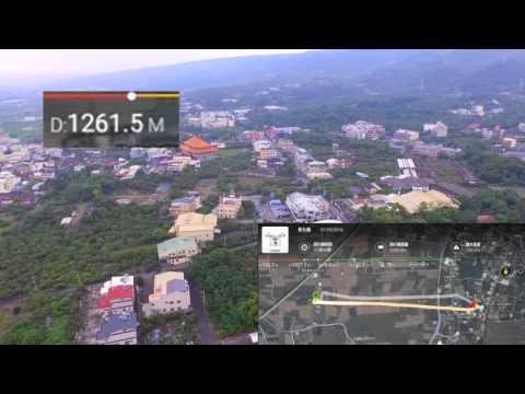 20160501社頭空拍測試DJI P3S天線改裝效果