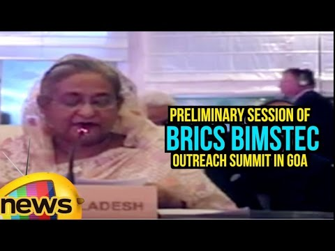 Bangladesh PM Sheikh Hasina Wazed Speech At Preliminary Session of BRICS BIMSTEC Outreach Summit