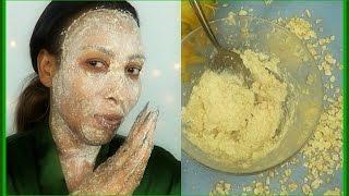 HOW TO MAKE COCONUT OATMEAL BODY+FACIAL SCRUB | UNISEX  | BRIGHT SMOOTH  SILKY SKIN |Khichi Beauty