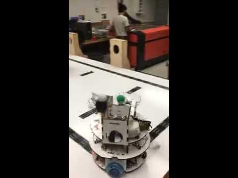 Nerf Herder Robotics - UCSC CMPE 118 Slug Wars Robot Challenge