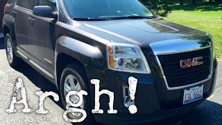 Annoying things about my 2015 GMC Terrain crossover CUV