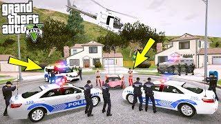ATIN SİLAHLARINIZI ETRAFINIZ SARILDI POLİS! - GTA 5