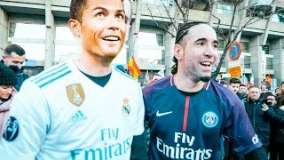 REAL VS PSG (Séan garnier + S3 Freestyle) Live!