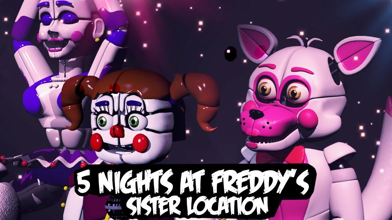 O Novo Fnaf Foxy E Ballora Five Nights At Freddy S Sister Location