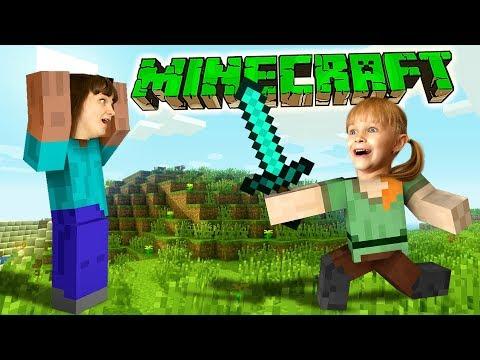Майнкрафт НОЧЬ ЗОМБИ в Minecraft
