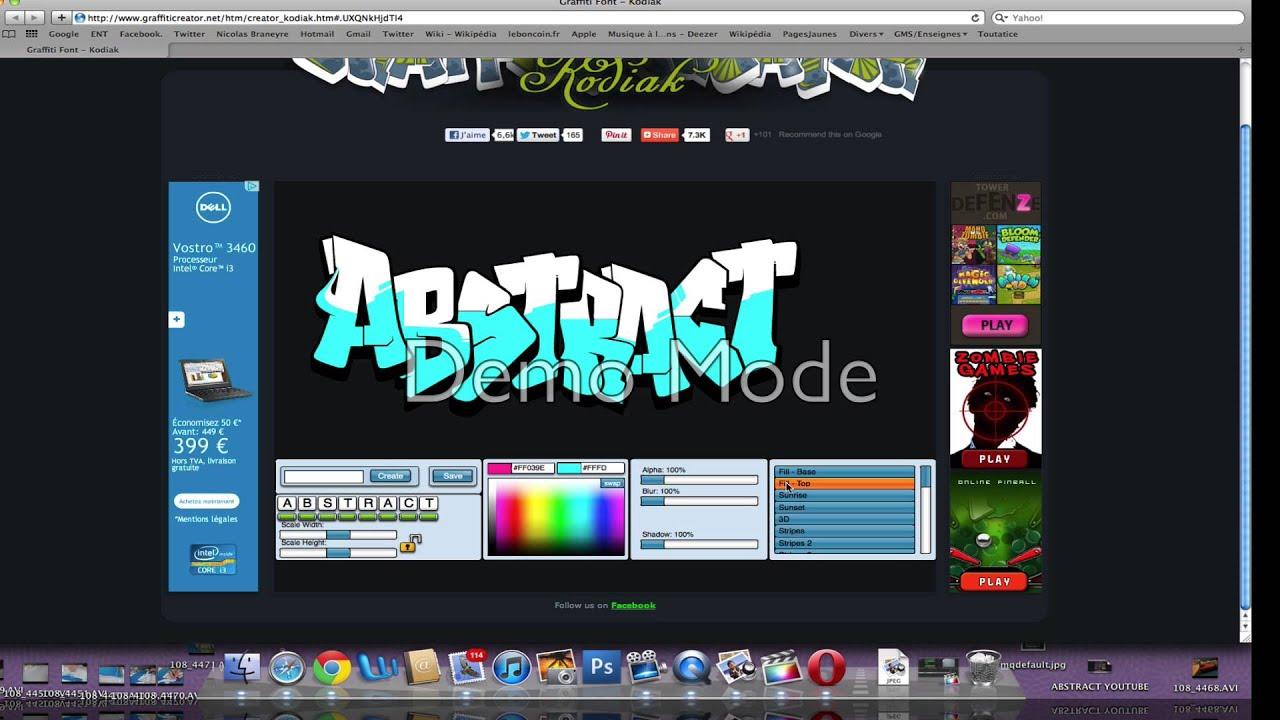 Graffiti créator