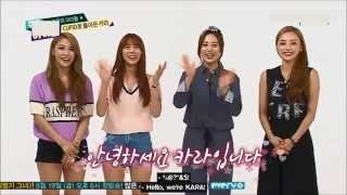 [Eng Sub]150610 Kara @ Weekly Idol FULL