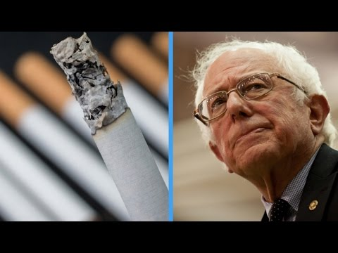 Bernie Sanders Doesn't Think Cigarette And Soda Taxes Are Comparable Mp3