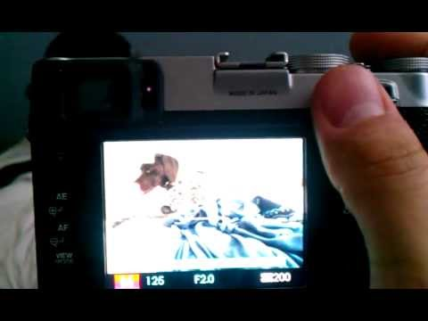 fine focus with manual focus zoom on fujifilm x100 youtube rh youtube com Webcam Manual Focus Camcorder Manual Focus