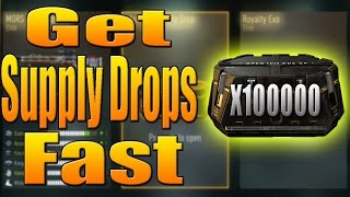 Fastest Way To Get Supply Drops (How Supply Drops REALLY Work)  CoD Advanced Warfare
