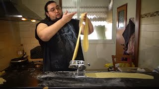 איך להכין פסטה טרייה בבית - שיטה מסורתית ומודרנית