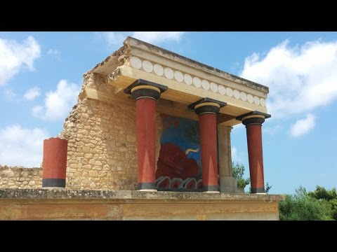 Greece - Crete - Heraklion and Palace of Knossos