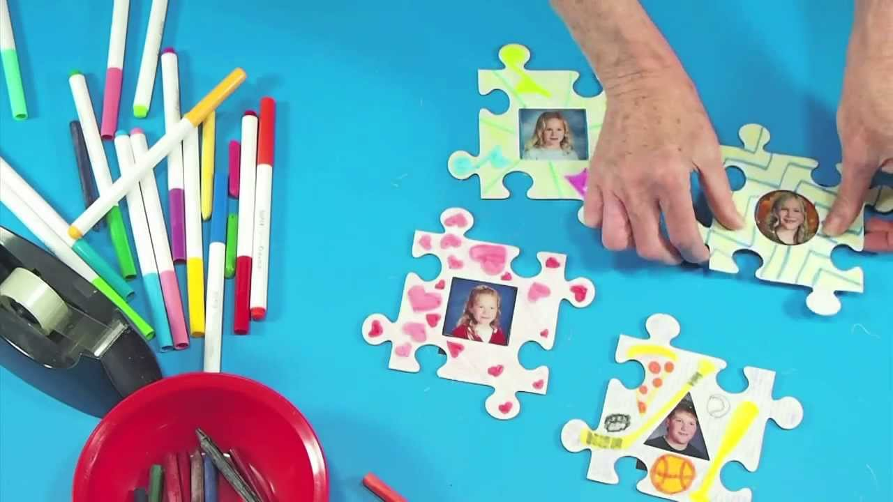 Roylco r52102 picture frame puzzle pieces youtube roylco r52102 picture frame puzzle pieces jeuxipadfo Images