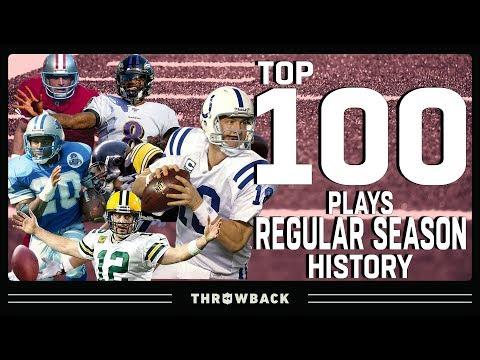 Top 100 Plays in Regular Season History! | NFL Throwback