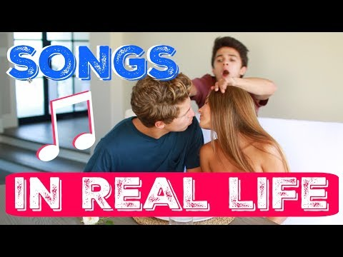 SONGS IN REAL LIFE Overprotective Brother  Brent Rivera
