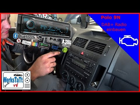 ►VW Polo 9N◄ DAB+ Radio einbauen [DAB+ Audio install] ◢WERKSTATT-TV◣