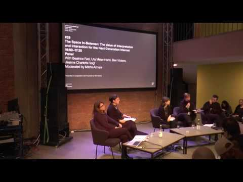 transmediale 2018 | The Space In-Between