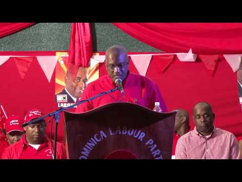 Watch Alvin Bernard ask voters in Roseau Central to vote for him on December 8th