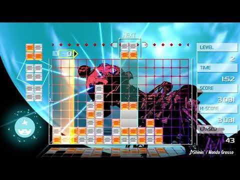 Lumines Remastered for Nintendo Switch | SHININ' - Mondo Grosso | Gameplay
