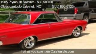 1965 Plymouth Satellite  for sale in Nationwide, NC 27603 at #VNclassics