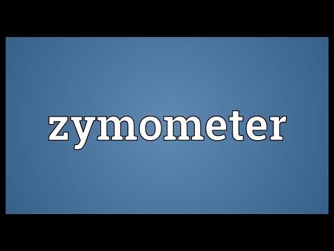 Header of zymometer