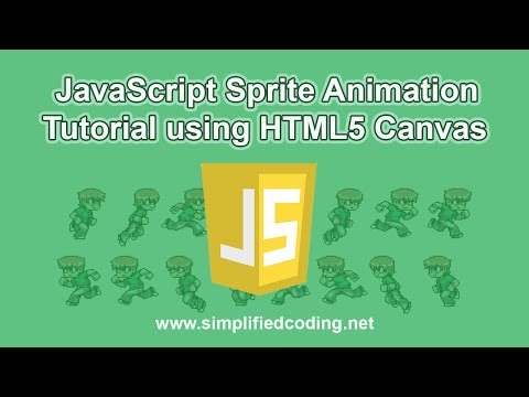 JavaScript Sprite Animation Tutorial Using HTML5 Canvas
