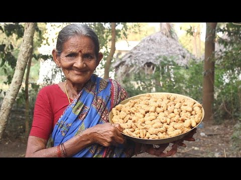 Special Sweet Item Gavvalu with Jaggery by My Grandma || Myna Street Food || Food Info