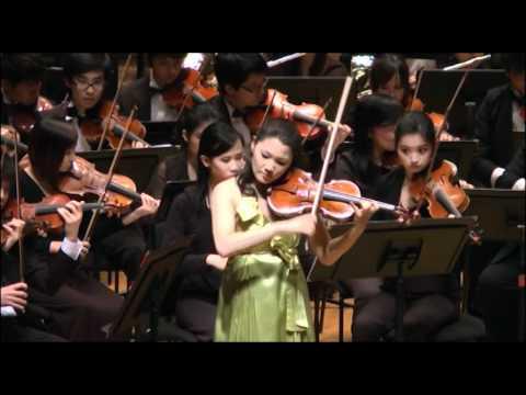 Tchaikovsky's Violin Concerto - Rachel Lee & HKBU Symphony Orchestra
