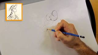 Learn how to draw Tigger - from Winnie the Pooh