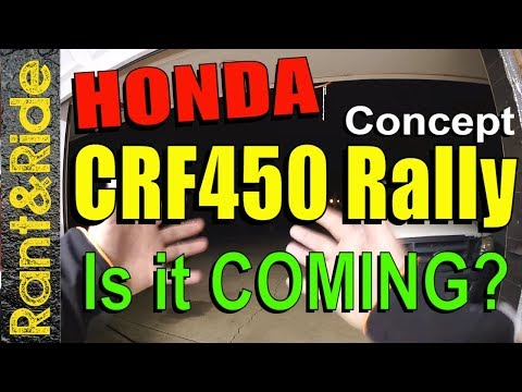 ALL NEW  Honda CRFL Rally | We might just get it!