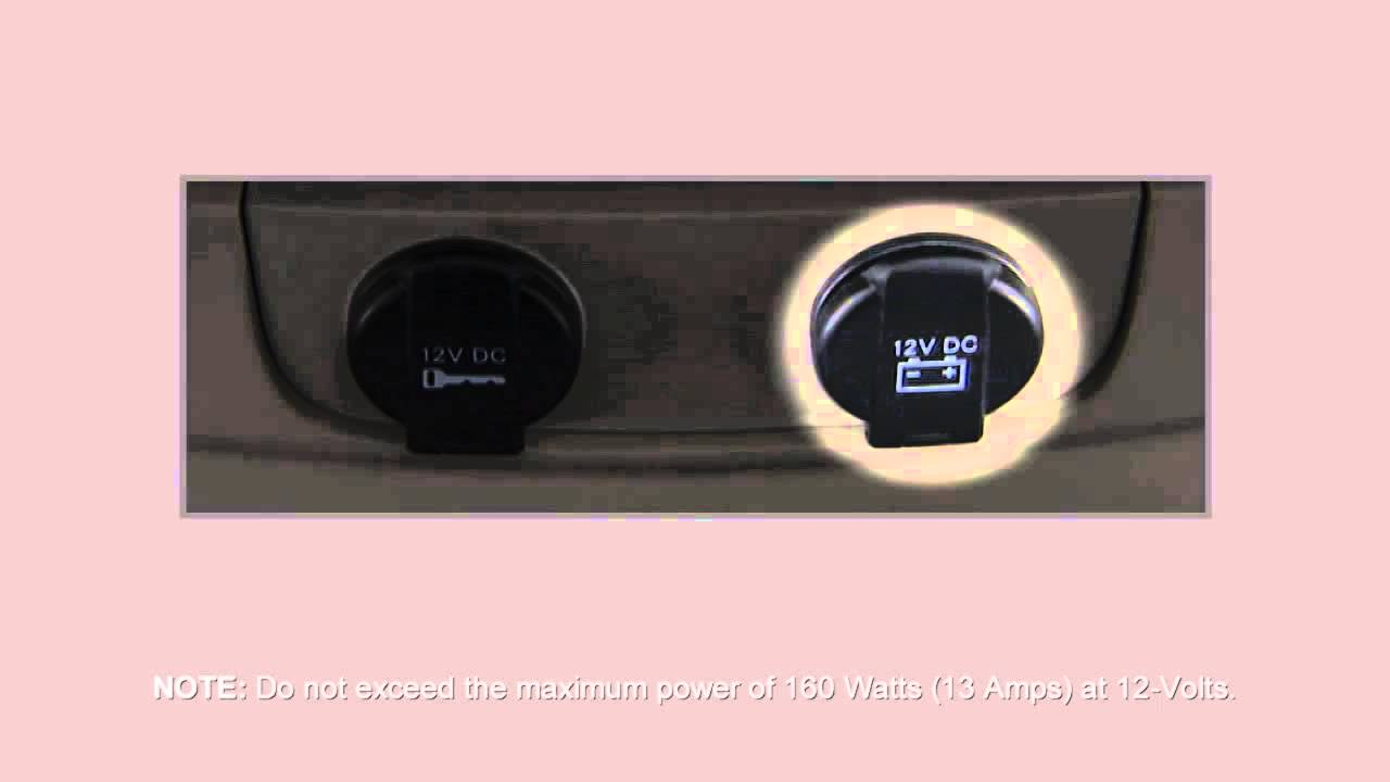 2014 Chrysler Town Country Electrical Power Outlets Youtube Amp Fuse Box Location