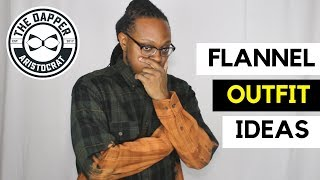 Flannel Shirt Outfit Ideas for Men | Flannel Shirt Outfits Men