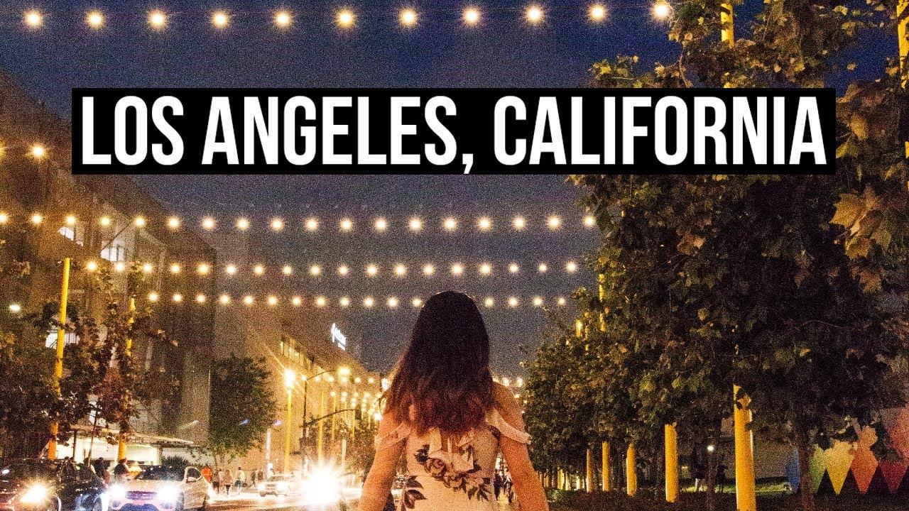 Travel Diary Los Angeles Ontario California Eva Chung Youtube