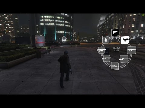 GTA V Watch_Dogs mod