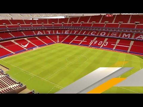 Simeone und Co. zum ersten Mal im neuen Fußball-Tempel | SPORT1
