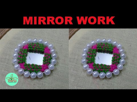 Hand embroidery/Mirror work embroidery/Embroidery Work/Disha Handwork Gallery#16