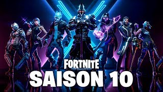SAISON X: COMBAT SKINS, NEW MAP - MORE!! (Fortnite season 10)