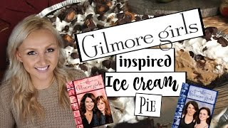Gilmore Girls inspired Ice Cream Pie Recipe | Vegan |