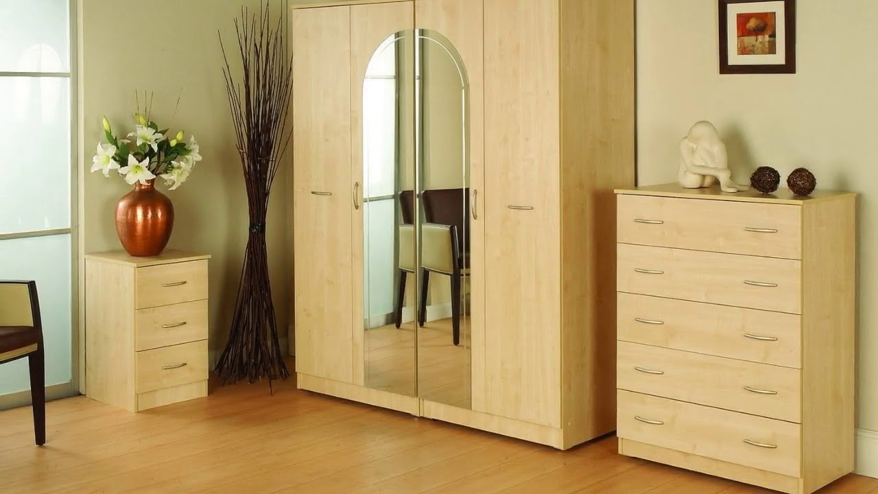 Bedroom Wardrobe Designs With Sliding Doors Youtube