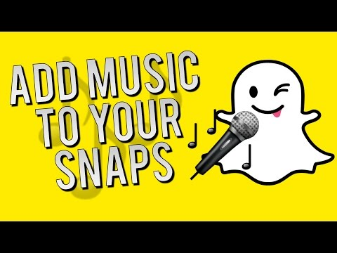 How to Add Music to your Snapchats - Snapchat Quick Tips and Tricks