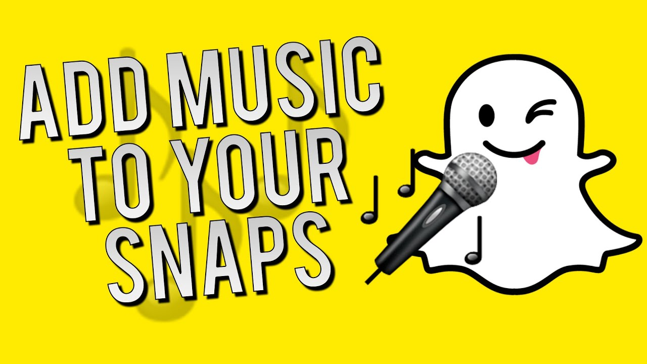How To Add Music To Your Snapchats  Snapchat Quick Tips And Tricks