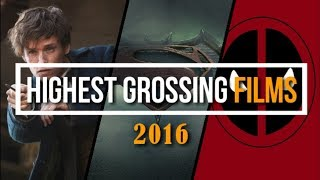 Highest Grossing Hollywood Movies 2016. Top 10 Highest-grossing films of 2016.