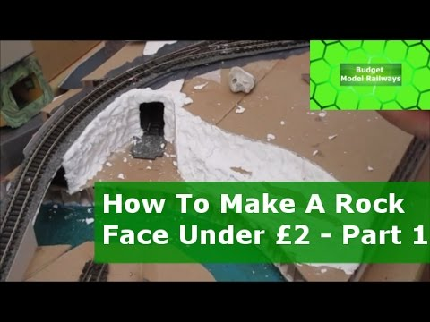 How To Make Cheap Realistic Rock Faces - Part 1