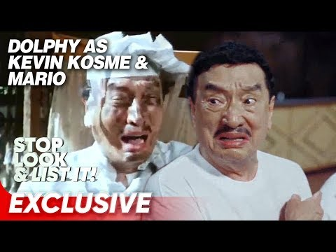 Dolphy's Funniest Scenes In Daddy O, Baby O! And Home Along Da Riles   Stop Look And List It