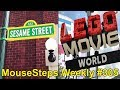MouseSteps Weekly #305: Lightning McQueen DHS Preview; Sesame Street at SeaWorld; LEGO Movie World