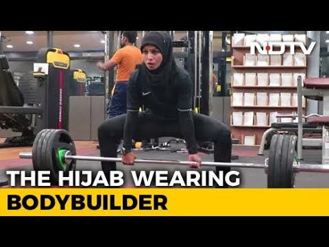 This Indian Woman Bodybuilder With A Hijab Is Breaking Stereotypes