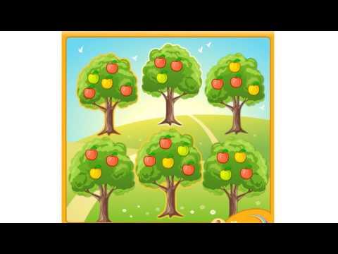 Математические игры. Яблоневый сад.