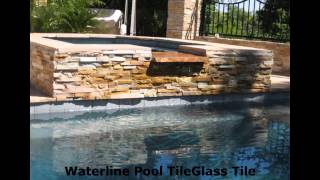 Mosaic Glass Pool Tile 1-800-609-1497