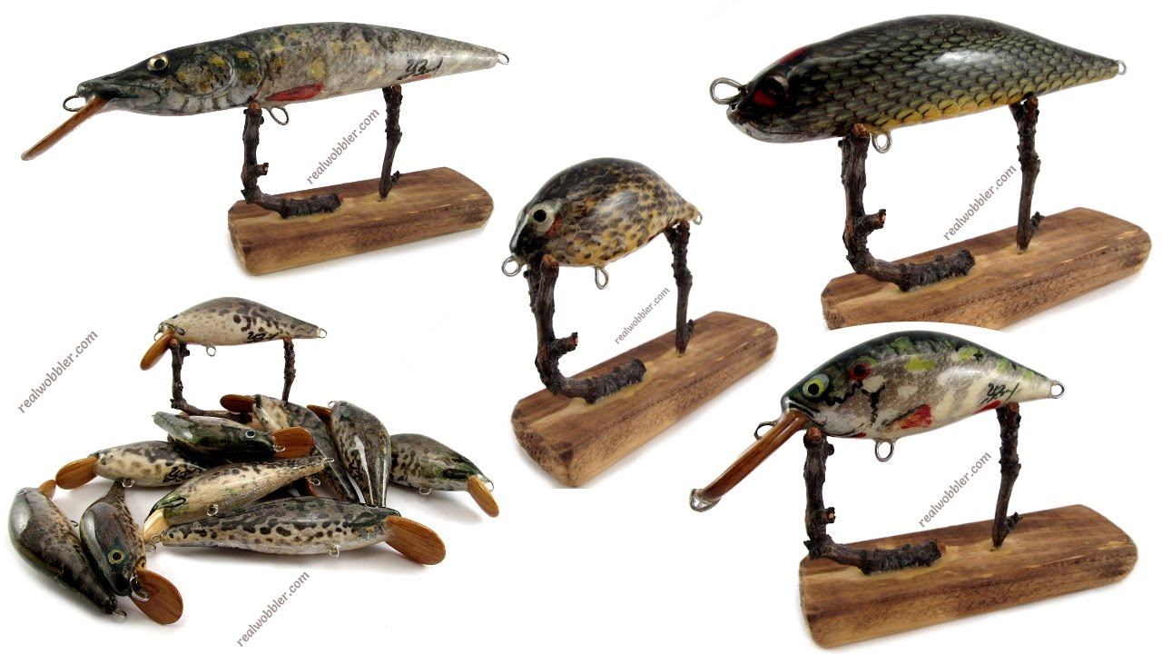 Handmade Fishing Lures Madness: A Variety of Unique Fish ...