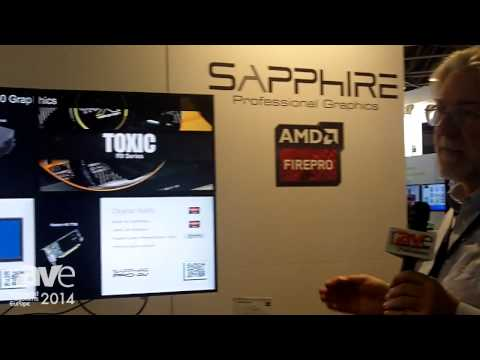 ISE 2014: Sapphire Technology Demonstrates Its Power Card Software